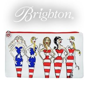 Brighton Multi Show Your Stripes Pouch